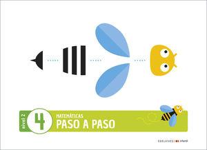(20) 4 AÑOS PROYECTO PASO A PASO - NIVEL 2. CUADERNO 4 EDELVIVES
