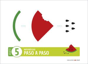 (20) 4 AÑOS PROYECTO PASO A PASO - NIVEL 2. CUADERNO 5 EDELVIVES