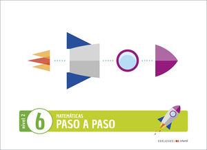 (20) 4 AÑOS PROYECTO PASO A PASO - NIVEL 2. CUADERNO 6 EDELVIVES