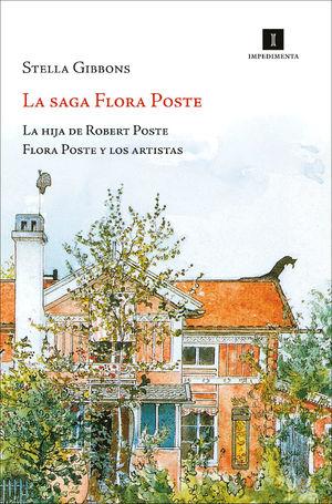 LA SAGA FLORA POSTE Estuche La hija de Robert Poste + Flora Poste y los artistas