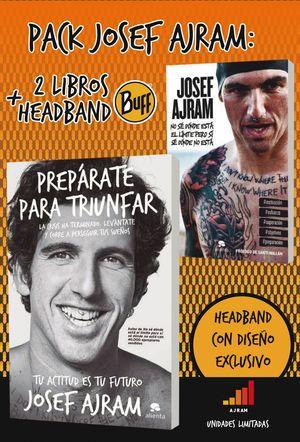 PACK JOSEF AJRAM 2 LIBROS+HEADBAND
