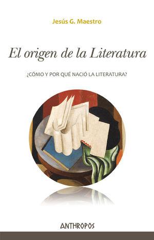 EL ORIGEN DE LA LITERATURA