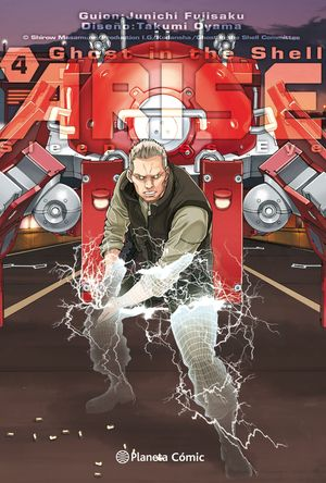 GHOST IN THE SHELL ARISE Nº 04/07