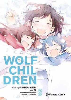 WOLF CHILDREN Nº 02/03