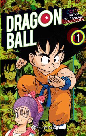 DRAGON BALL COLOR ORIGEN Y RED RIBBON Nº 01