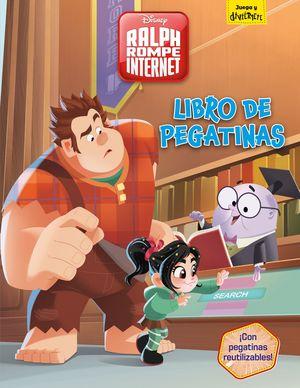 RALPH ROMPE INTERNET. LIBRO DE PEGATINAS