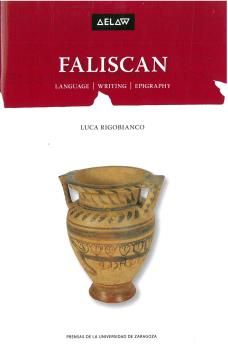 FALISCAN. LANGUAGE.WRITING EPIGRAPHY