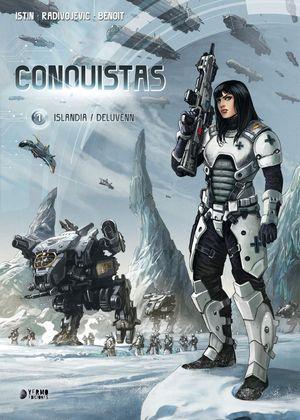 CONQUISTAS 01: ISLANDIA ; DELUVENN