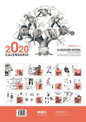 CALENDARIO 2020 LA SELECCION NATURAL