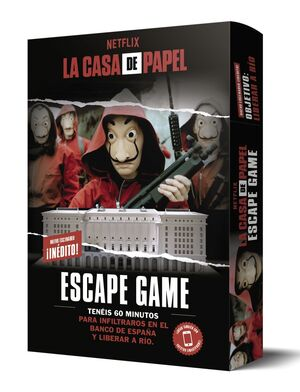 LA CASA DE PAPEL. ESCAPE