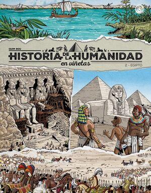 HISTORIA DE LA HUMANIDAD EN VIÑETAS - 2. EGIPTO