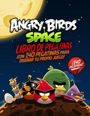 ANGRY BIRDS SPACE. LIBRO DE PEGATINAS