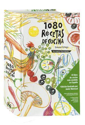 1080 RECETAS DE COCINA (ilustrado por Javier Marsical)