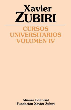 CURSOS UNIVERSITARIOS VOLUMEN IV