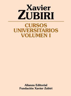 CURSOS UNIVERSITARIOS VOLUMEN I