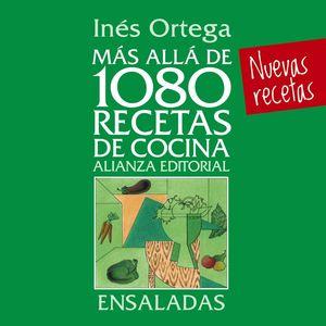 MÁS ALLÁ DE 1080 RECETAS DE COCINA. ENSALADAS