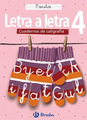 (05) CALIGRAFIA LETRA A LETRA 4 PAUTA