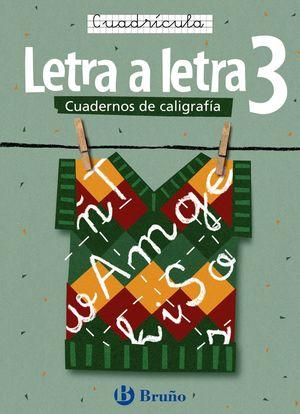 (05) CALIGRAFIA LETRA A LETRA 3 CUADRICULA