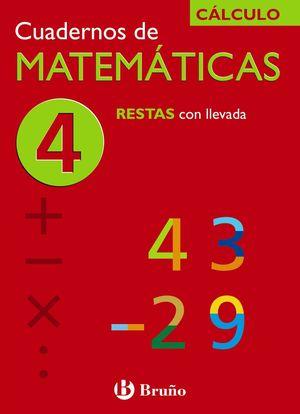 Cuadernos de Matemáticas 4 CÁLCULO - Bruño