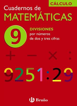 Cuadernos de Matemáticas nº 9 Cálculo - Bruño