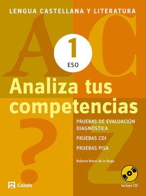 ESO1 ANALIZA TUS COMPETENCIAS. LENGUA CASTELLANA Y LITERATURA