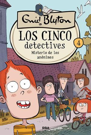 LOS 5 DETECTIIVES 4. MISTERIO DE LOS ANÓNIMOS