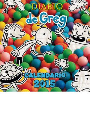 CALENDARIO DE GREG 2015