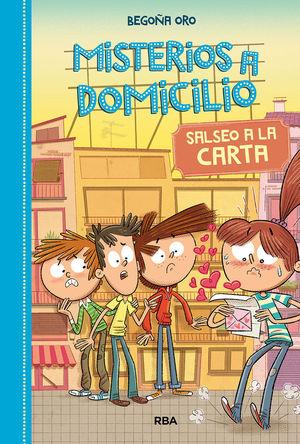 MISTERIOS A DOMICILIO 5. SALSEO A LA CARTA