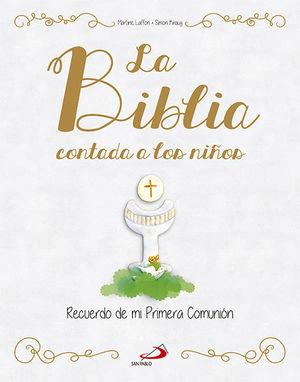 BIBLIA CONTADA A LOS NIÑOS. RECUERDO PRIMERA COMUN