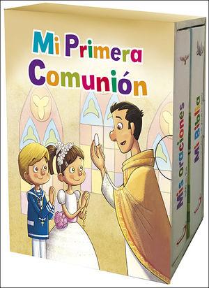 MI PRIMERA COMUNION.(PACK:BIBLIA+MIS ORACIONES)