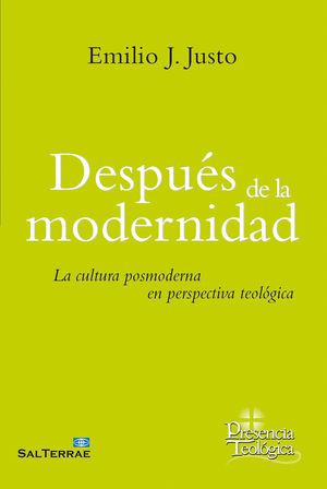 DESPUÉS DE LA MODERNIDAD