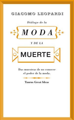 DIÁLOGO DE LA MODA Y DE LA MUERTE