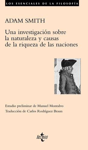 Una investigación sobre la naturaleza y causas de la riqueza de las naciones