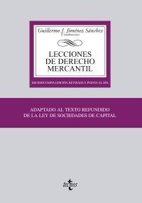 Lecciones Dcho Mercantil. 14 ED.