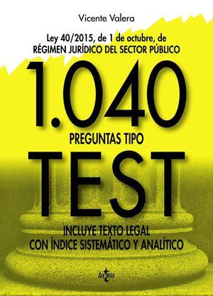 1040 PREGUNTAS TIPO TEST