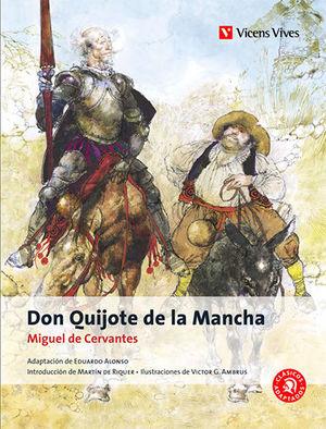 DON QUIJOTE DE LA MANCHA CLÁSICOS ADAPTADOS V.VIVES