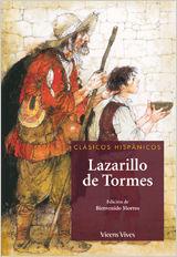 EL LAZARILLO DE TORMES CLÁSICOS HISPÁNICOS 4  VICESN VIVES