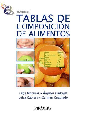 TABLAS DE COMPOSICIÓN DE ALIMENTOS