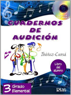 CUADERNOS DE AUDICION 3 ALUMNO