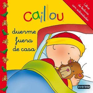 CAILLOU DUERME FUERA DE CASA