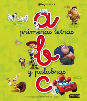 ABC DISNEY PRIMERAS LETRAS