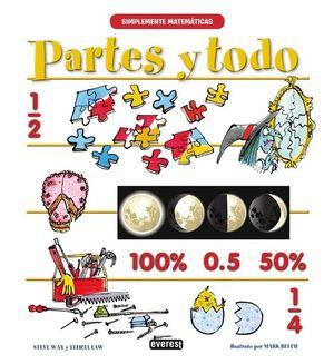 PARTES Y TODO. 100% 0.5 50 %