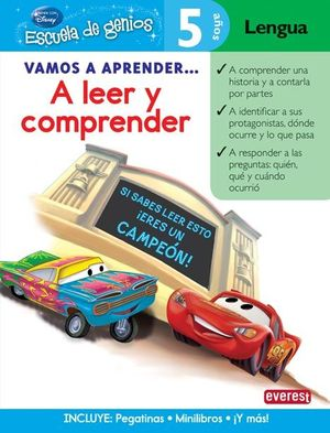 A LEER Y COMPRENDER - 5 AÑOS