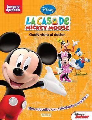 LA CASA DE MICKEY MOUSE. LIBRO DE ACTIVIDADES CON PEGATINAS : GOOFY VISITA AL DOCTOR