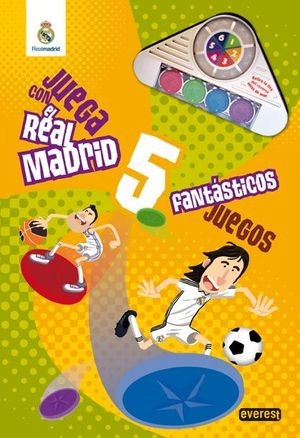 Juega con el Real Madrid : fantásticos juegos
