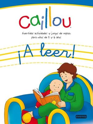 Caillou ¡a leer!