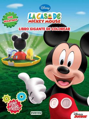LA CASA DE MICKEY MOUSE. MISKA, MUSKA, MICKEY MOUSE. LIBRO GIGANTE DE COLOREAR C
