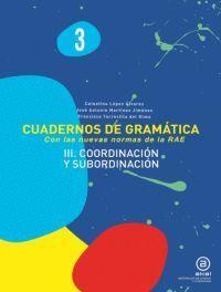 CUADERNOS DE GRAMÁTICA 3