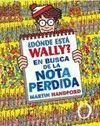 WALLY? EN BUSCA NOTA PERDIDA (25 ANIV)