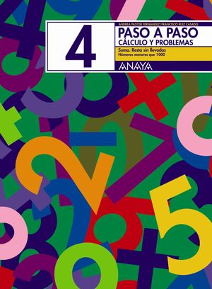 PASO A PASO 4 CÁLCULO Y PROBLEMAS ANAYA